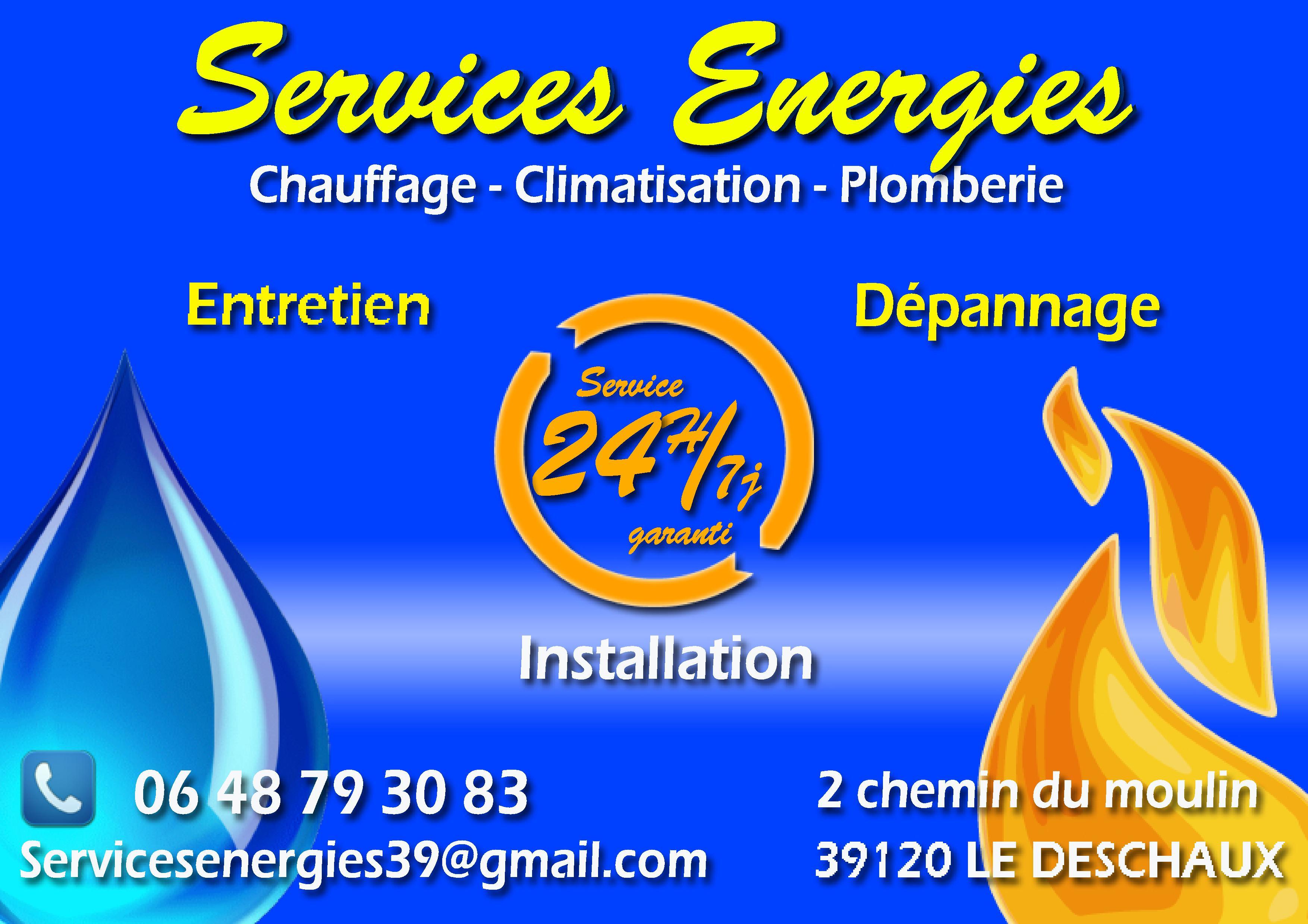 services énergies
